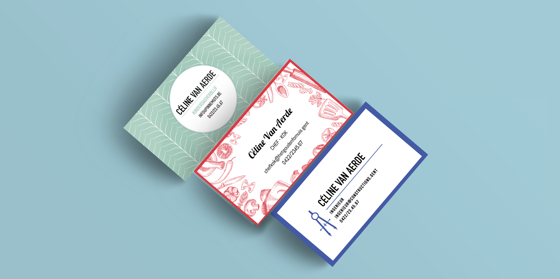 Business cards stad Gent