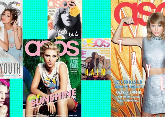 Asos magazine - editions