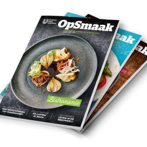 Unilever food solutions magazine - Op smaak
